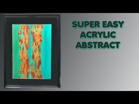 ( 1012 )  Super easy abstract