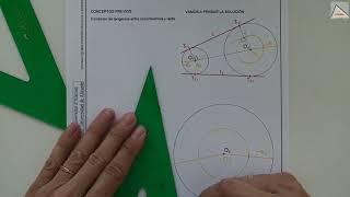 Imagen en miniatura para Rectas tangentes exteriores a dos circunferencias II