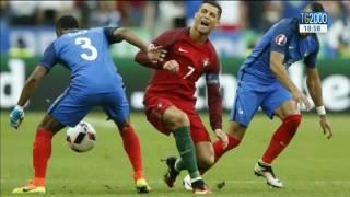 Il Portogallo festeggia a Lisbona la vittoria agli europei di calcio