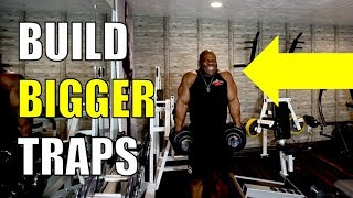 HOW TO BUILD BIGGER TRAP MUSCLES