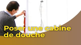 Poser Une Cabine De Douche Youtube