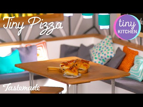 Your Tiny Pizza Delivery Has Arrived | Tiny Kitchen