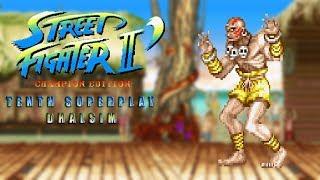 Street Fighter II' - Champion Edition - Dhalsim【TAS】