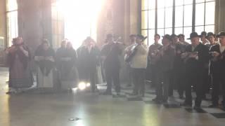 """Portuguese traditional folk music """"Ranchos"""" in Porto, Portugal"""