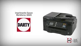 Imprimante Epson Workforce 3620 - démonstration Darty