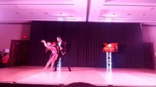 Jorge Martinez y Maria Catalan Bachata Performance Thurs Houston Salsa Congress 2017