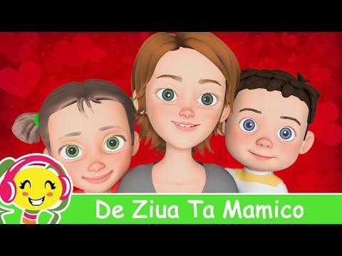 De Ziua Ta Mamico - Cantece Pentru Copii De Primavara