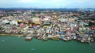 Ville de Pattaya - Thailande