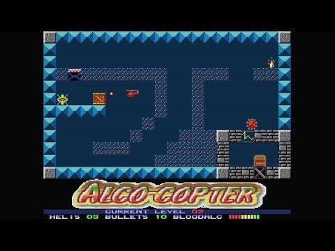 Alco-Copter (2018) | Preview | Amiga | Homebrew World