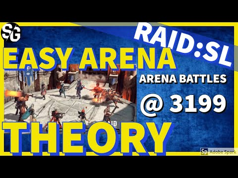 [RAID SHADOW LEGENDS] EASY ARENA THEORY