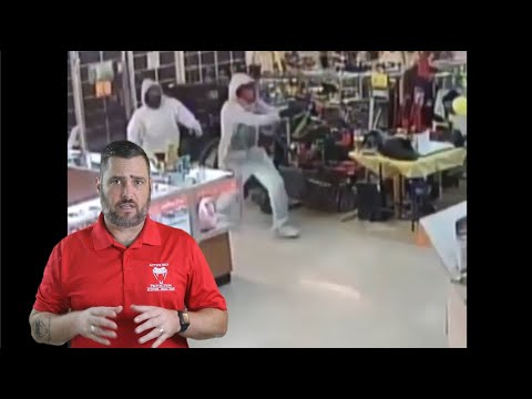 Houston Pawn Shop Robbery Ends In Tragedy