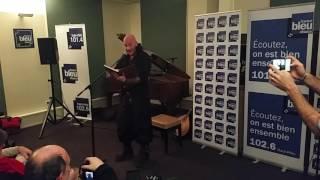 Luc Arbogast en concert privé à France Bleu Alsace