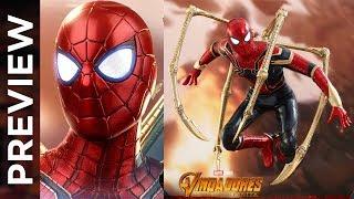 PREVIEW Hot Toys Homem Aranha de Ferro filme Vingadores Guerra Infinita   Iron Spider Infinity War