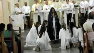 Dança ave Cheia de Graça - Missão Jovem de Pres. Bernardes
