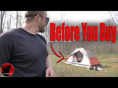 How Bad Can It Be? - Alps Mountaineering Lynx 1 Tent - Setup