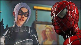 Spider-man Meets Black Cat in the Raimi Suit - Spider-man PS4 (CLIP)
