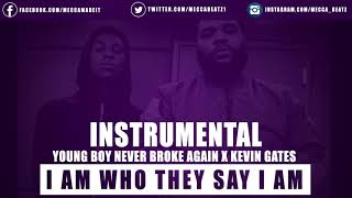 NBA YoungBoy - I Am Who They Say I Am ( Instrumental ) ReProd By Mecca Beatz