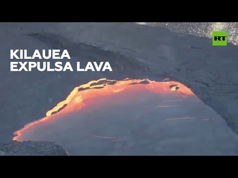 Persiste la expulsión de lava del volcán Kilauea en Hawái