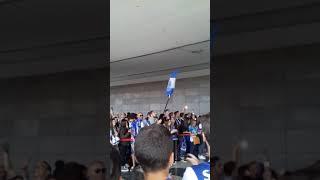 Chegada da equipa do FC Porto a Madeira