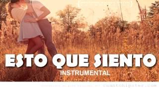 """""""ESTO QUE SIENTO"""" INSTRUMENTAL DE RAP ROMANTICO R&B [USO LIBRE] BEAT"""
