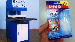 Semi-automatic Blister Card Heat Sealing Machine,Blister Card Packing Machine