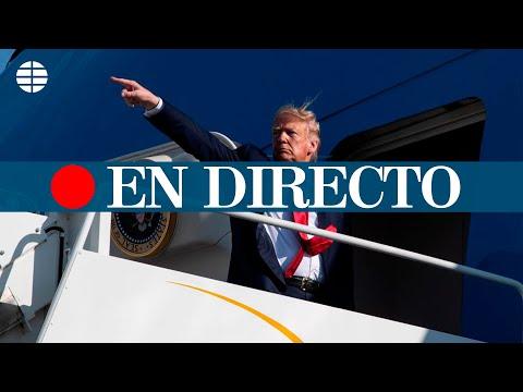 DIRECTO EEUU   Donald Trump viaja a Florida el día de su salida como presidente de los EEUU