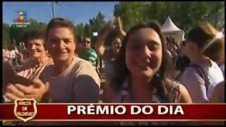 Fernando Correia Marques no somos portugal da tvi em Arcos de Valdevez com o tema quem nunca fez
