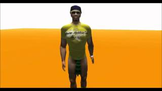 Lil B - Swag Like Caillou    (Second Life)