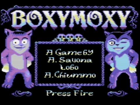 RETROJuegos Homebrew - BoxyMoxy (c) 2020 BrokenBytes p/ Commodore 64 #RETROJuegos byFabio