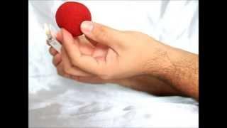 Transformação do fogo em bolinha - Revelado / Transformation of the paper ball - Revealed