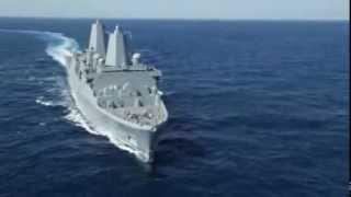 Ingalls Shipbuilding - Arlington (LPD 24) Successfully Completes US Navy Acceptance Trials [720p]