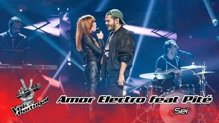 Amor Electro - Sei feat. Pité | Gala | The Voice Portugal
