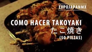 Como hacer TAKOYAKI