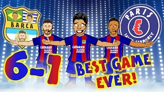 BARCA 6-1 PSG! THE BEST COMEBACK EVER! Barcelona complete the best comeback in the Champions League!
