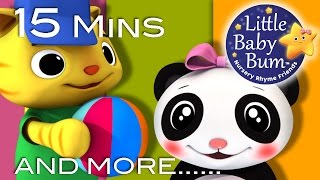 Sharing Song | Plus Lots More Nursery Rhymes | Original Song by LittleBabyBum!