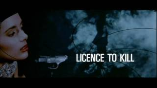 Licence To Kill Opening Title Sequence