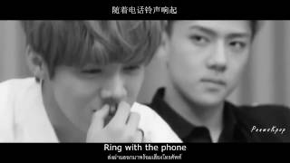 LuHan鹿晗_On Call l #HunHan (Feat.Sehun_EXO) Lyrics