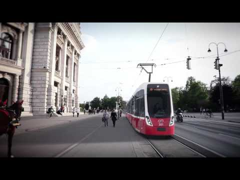 Design for Vienna's new FLEXITY tram fleet