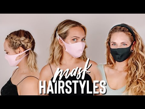Cute hairstyles to wear with a mask – Kayley Melissa
