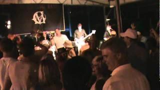 Cef Michael Band at Lake Cumberland's State Dock performing Wagon Wheel