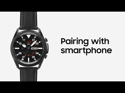 Galaxy Watch3: Pairing with your smartphone | Samsung