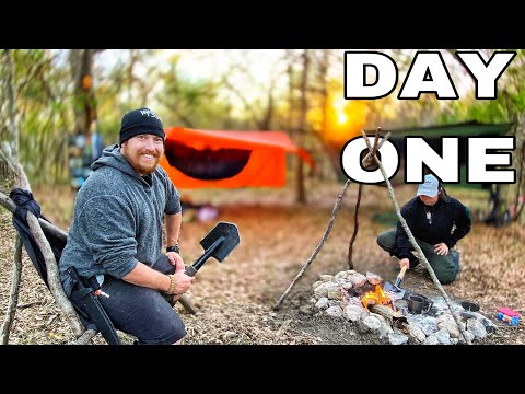 SURVIVAL Catch and Cook Series! Day 1 of 7 Day Subscriber Survival Challenge Texas