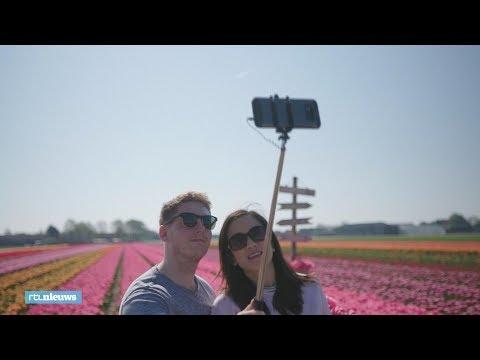 Toeristen gaan los bij Keukenhof: 'Ik heb al 3000 foto's gemaakt' - RTL NIEUWS
