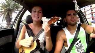 La seine - Vanessa Paradis & M / Ukulélé cover/ car cover