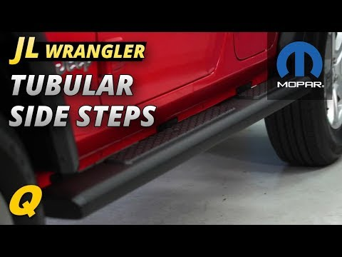 Mopar Tubular Side Steps Review for Jeep Wrangler JL