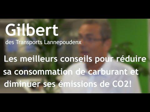 L'éco-conduite de Gilbert Lannepoudenx (4 min)