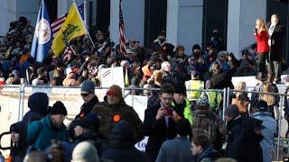 Протесты сторонников оружия