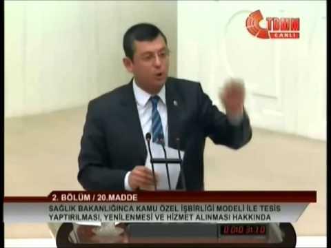 """CHP MV ÖZGÜR ÖZEL: HASTANE ZİNCİRLERİNİN ORTAĞI FIRST LADY KİM?"""""""