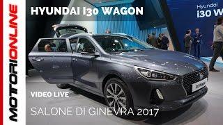 Hyundai i30 Wagon | Salone di Ginevra 2017