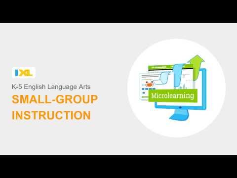 K-5 ELA and Small Group Instruction